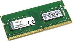 Kingston ValueRAM 4GB DDR4 2400 (PC4 19200) SoDIMM