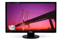 "ASUS 27"" HD 1080 (16:9) 2ms 50M:1 (V/H/H) w/Speakers"