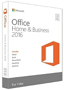 Microsoft Office 2016 Home & Business for Mac PKC